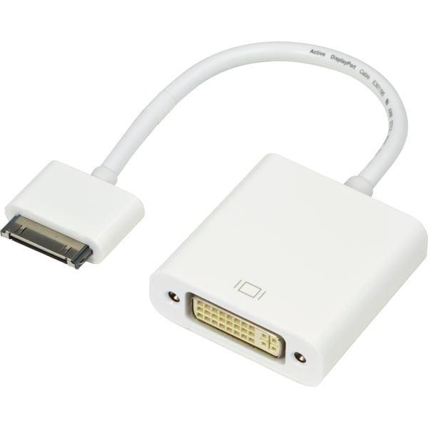 Køb iPhone / iPad DVI Adapter på Av-Cables.dk