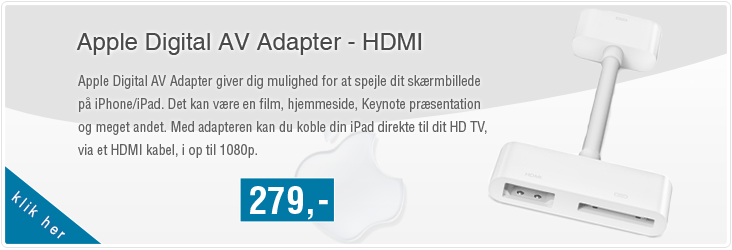 Apple Digital AV Adapter - HDMI