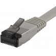 Cat 6a U/FTP fladt