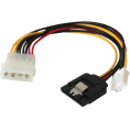 "Intern splitter adapter - 1 x 4-pin 5.25"" til S-ATA + 3.5"""