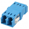 Fiber optisk duplex LC/LC singlemode ceramic adapter