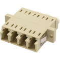 Fiber optisk duplex 2xLC/LC multimode ceramic adapter