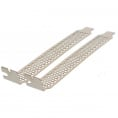 PCI slot bracket - Perforeret - Silver - 2 stk.