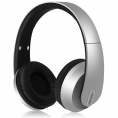 Av:Link - Bluetooth Satin Over-Ear Headset - Sølv