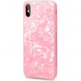 CELLY iPhone X/XS Cover - Pearl Cover - Rosa