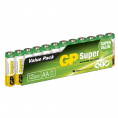 GP - Super Alkaline - AA batteri - 12 stk.