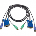 KVM VGA / PS2 kabel - 1.8 m