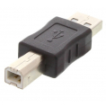 USB 2.0 adapter - USB A han / USB B han