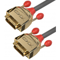 Lindy High End DVI-D Dual Link kabel - Gold Line - 2 m