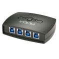 Lindy - USB 3.0 switch - Elektronisk - 4 vejs