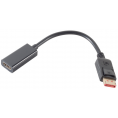 Displayport 1.4 til HDMI adapter kabel - 4K/60Hz - Sort
