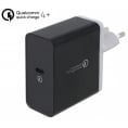 Delock 230V PD USB-C Quick Charge 4+ 27W/12V/3A