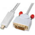 High Quality Mini Displayport til DVI kabel - 1 m