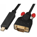 High Quality Mini Displayport til VGA kabel - 1 m
