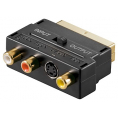 High Grade Scart Adapter - Guldbelagt