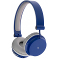 KITSOUND On-Ear Metro Bluetooth Headset - Blå