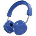 KITSOUND On-Ear Metro X Bluetooth Headset - Blå