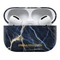 ONSALA COLLECTION Airpods Pro Case - Black Galaxy Marble
