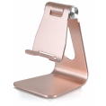 DESIRE2 Smartphone Stand - Justerbar - Rosa guld