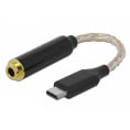 Delock USB-C 3.1 til 4.4 mm hovedtelefon adapter
