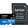 Lexar High-Performance 633x microSDHC/SDXC - R95/W45 - 128GB