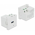 Delock Easy 45 USB Port Modul - 1 x USB-A 2.0