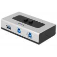Delock USB 3.0 Switch - Manuel - 2 vejs