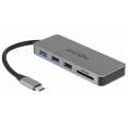Delock USB-C 3.1 HDMI multihub - 4K - Sort