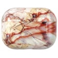 AirPods Pro Hard Marble Cover - Brown Stone