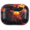 AirPods Pro Hard Marble Cover - Flame