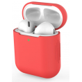 AirPods silikone cover - Rød