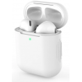 AirPods silikone cover - Hvid