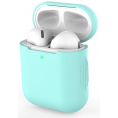 AirPods silikone cover - Turkis blå