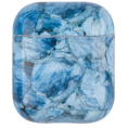 AirPods Hard Marble Cover - Blue