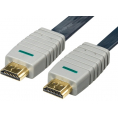 Bandbrigde High Speed fladt 2.0 HDMI kabel - 20 m
