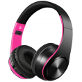 On-Ear Bluetooth 4.2 Høretelefoner - Sort/pink