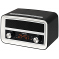 Denver Clock radio / Bluetooth højttaler - Sort