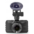 "Nedis DCAM15BK Bilkamera/dashcam - 3.0"" - Full HD 1080p"
