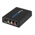 HDMI til 1 x Composite/S-video + 2 x Phono (Scart) Converter