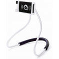 "Fleksibel ""Lazy Neck"" smartphone holder - Hvid"