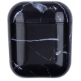 AirPods Hard Marble Cover - Sort