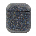 AirPods Hard Bling Crystal Cover - Sort