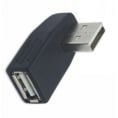 USB-A 2.0 vinkel adapter