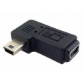 USB 2.0 Mini-B vinkel adapter