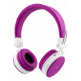 Streetz  - On-Ear Bluetooth Headset - Pink