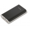Powerbank - 7.500 mAh - Sort