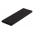 Ultra Slim PowerBank - 1 x USB - 3600 mAh - Sort