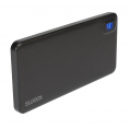 Sweex Powerbank - 1 x USB - 8000 mAh - Sort