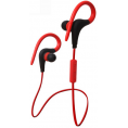 In-Ear Sport Bluetooth Headset - Rød