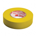 Isolations tape 15mm - 10 m - Gul